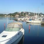 Båtar i hamnen i Stenungsund