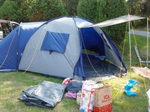Camping på Västkusten och Daftö