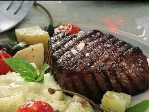 Restauranger på Västkusten och Helstekt oxfilé på Harrys Pub | Västkusten